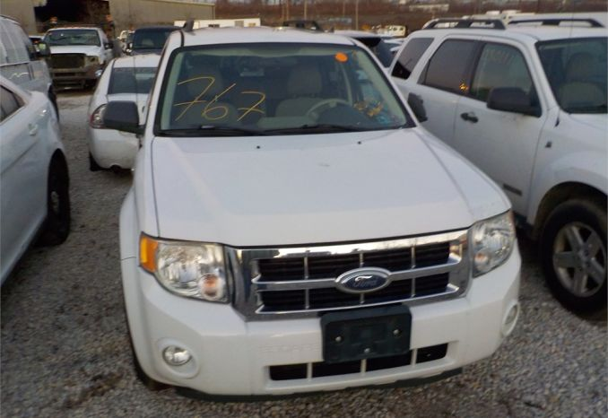 2008 FORD ESCAPE-HYBRID 4X4 SUV / LOT767-080013-R