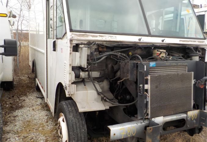 2009 UTILITYMASTER WORKHORSE W62 STEP VAN / LOT780-095277-NR