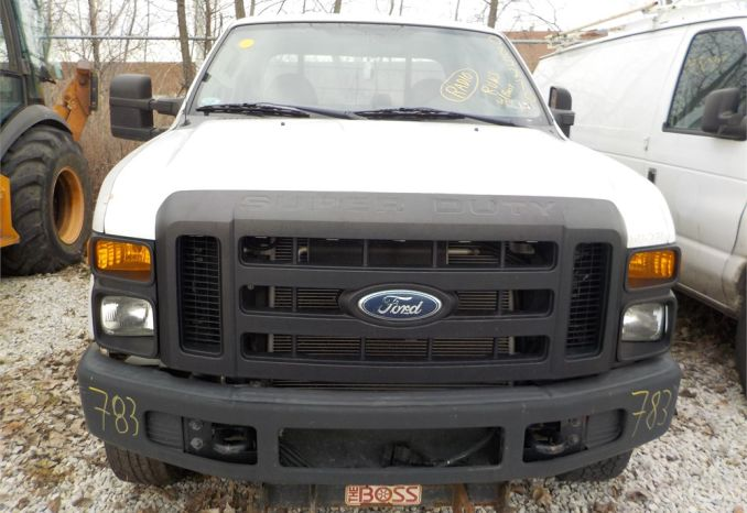 2008 FORD F350 XL SUPER DUTY 4X4 PICKUP / LOT783-085270-R