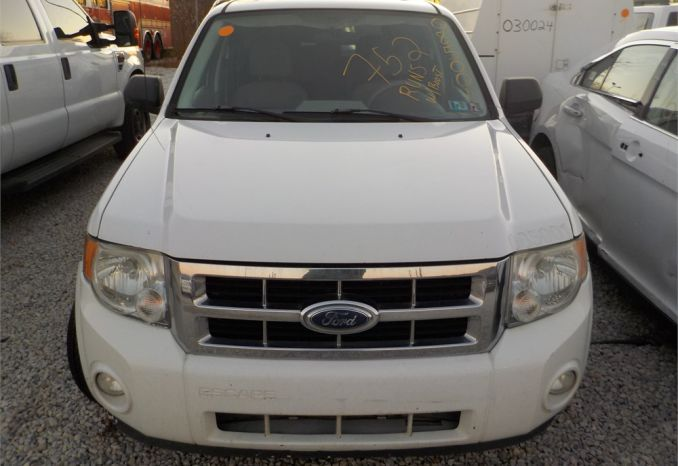 2008 FORD ESCAPE-HYBRID 4X4 SUV / LOT752-085001-R