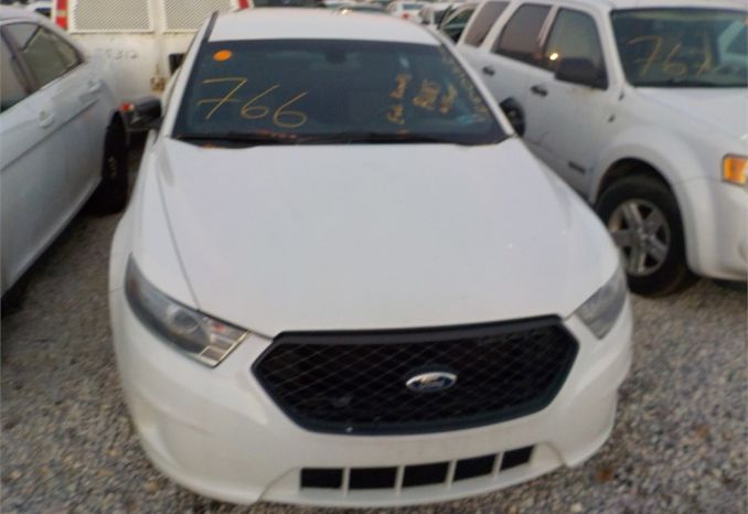 2014 FORD FWD POLICE INTERCEPTOR / LOT766-145064-R