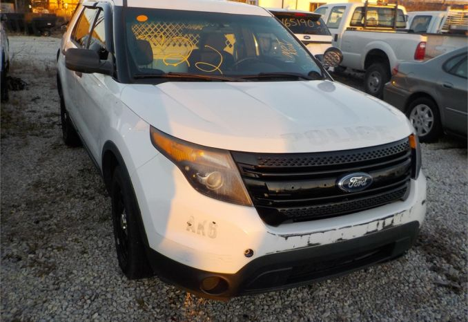 2013 FORD POLICE INTERCEPTOR 4X4 SUV / LOT722-130023-NR