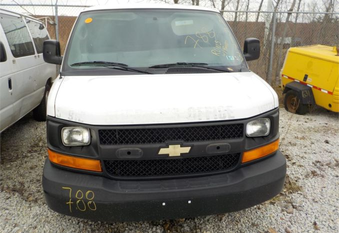 2014 CHEVROLET EXPRESS STABILITRAK RWD VAN / LOT788-145173-R