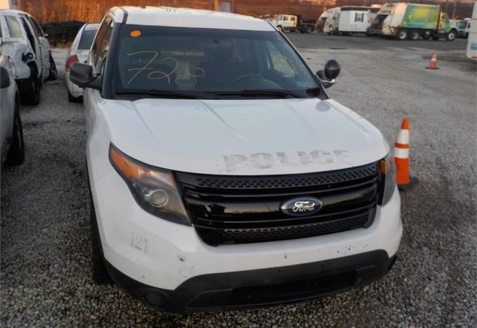 2015 FORD 4X4 POLICE INTERCEPTOR SUV / LOT728-155163-NR