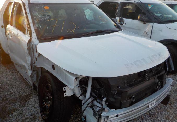 2018 FORD 4X4 POLICE INTERCEPTOR SUV / LOT712-185150-NR