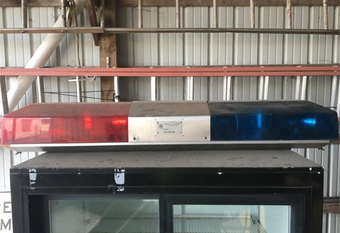 Model 8810 light bar (untested)