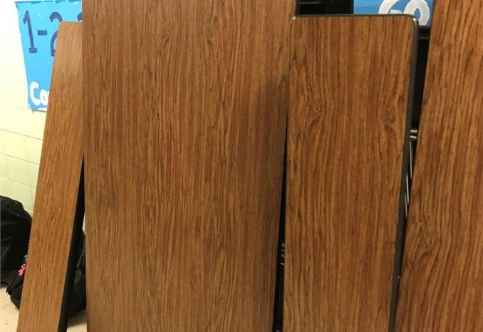 School Cafeteria Tables