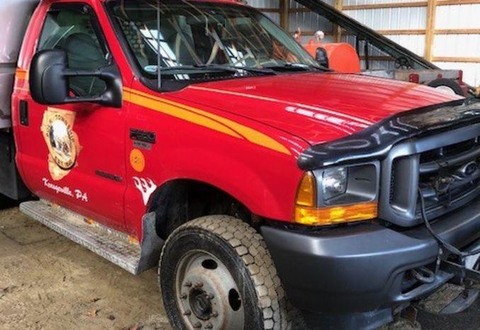 2001 Ford F-550 Dump Truck