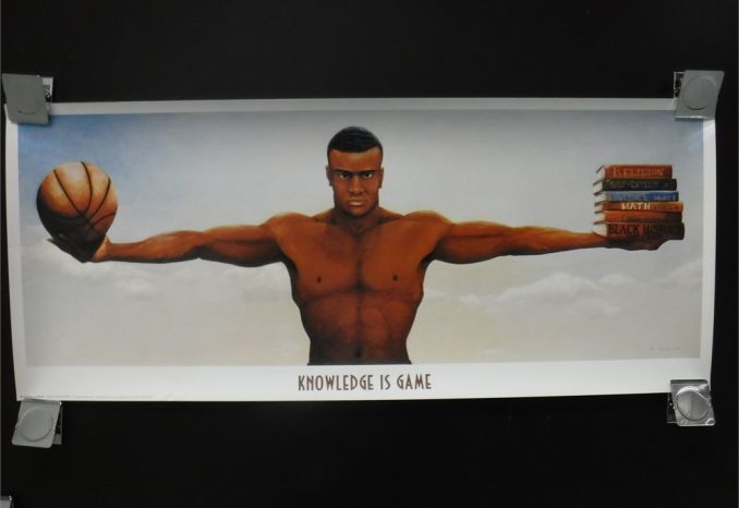 Knowledge is Game Art work by Sheldon Gillis 1999- New