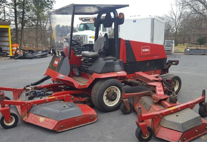 2008 Toro 580D 16' Wing Mower