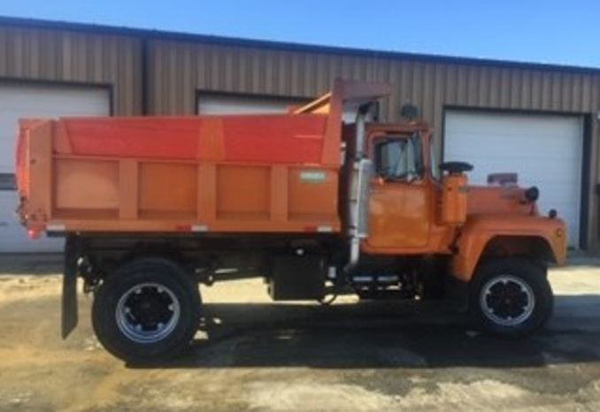 Classic 1979 R Model Mack Dump Truck w/ Plow