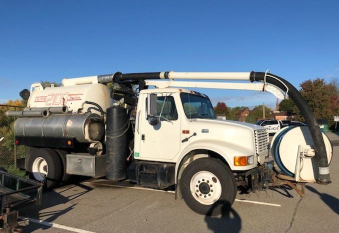 2001 Vactor Flusher 2100 Series