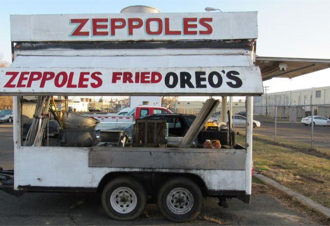 2001 Wells Cargo Funnel Cake/Zeppole Trailer-DSS2409