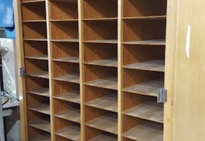 Large Storage Cabinets, Doors & Bins,