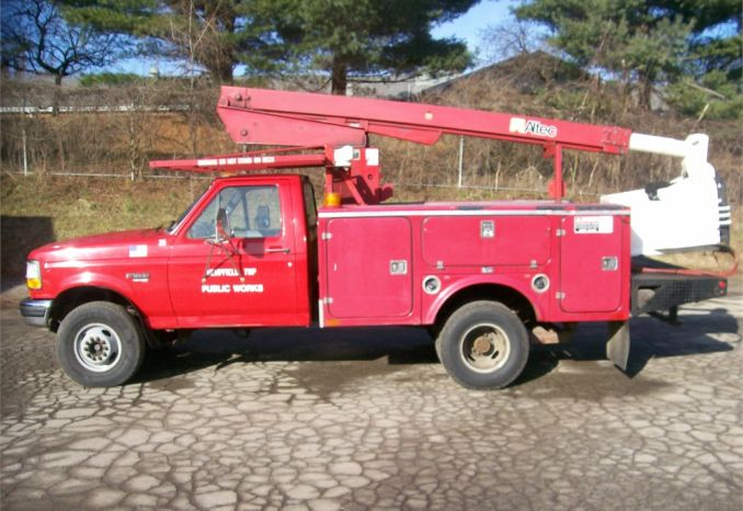 1997 FORD SUPERDUTY- ALTEC BUCKET TRUCK