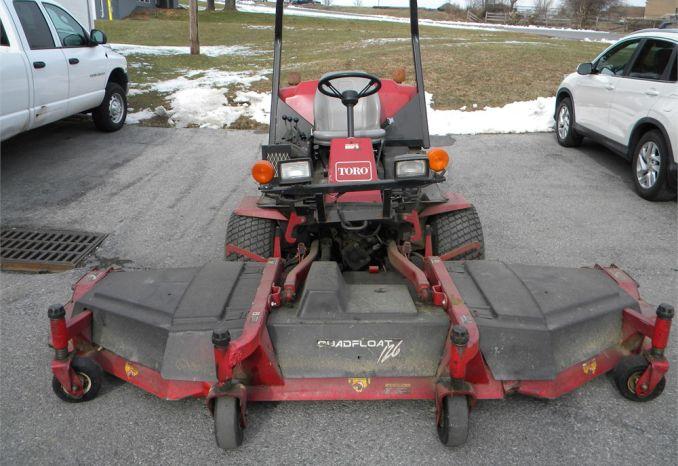 1998 Toro 455-D Groundsmaster 4wd