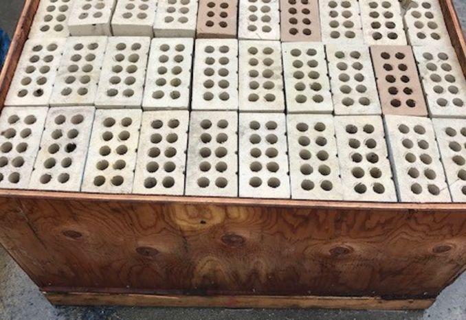 (1) Crate of Brick