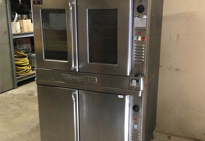 Double Stacked Blodgett Convection Oven