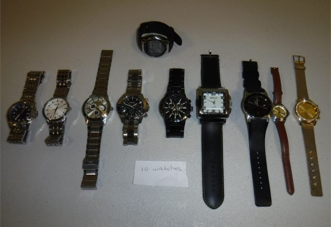 Lot #4 -10 Watches (Used) (AS-IS)