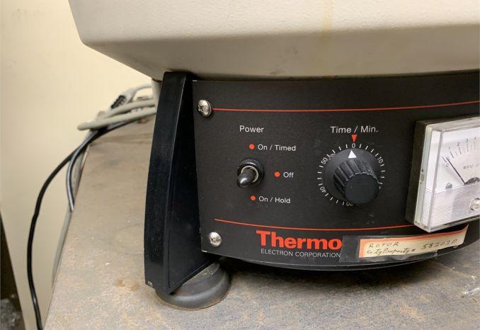 Lot of broken HNSII centrifuges / 38-14-012