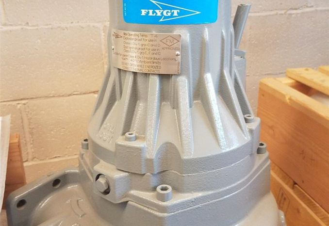 9 Unused (new) Flygt Water/Waste Water Submersible Pumps -DSS2427