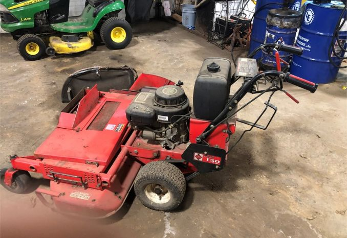 "Gravely 50"" Walk Behind Mower"