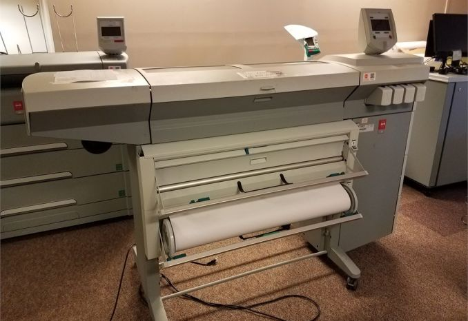 USED OCE TCS 500 PLOTTER / LOT 38-16-107