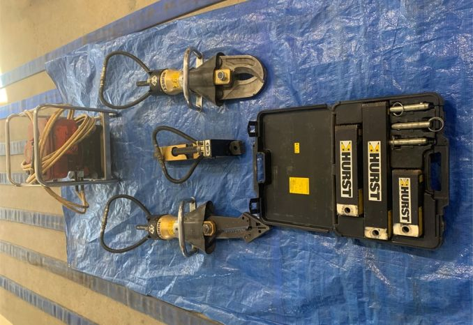 """Jaws of Life"" Hurst Extrication Tools"