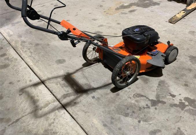 """Husqvarna 18"""" self-propelled walk behind mower"""