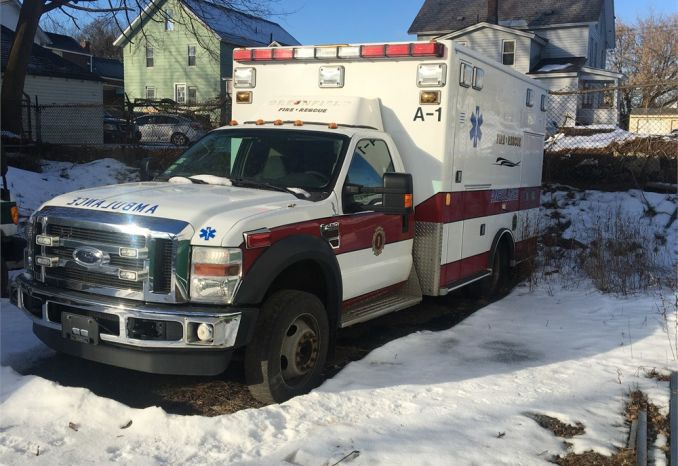 2010 Ford F450 Road Rescue Ambulance
