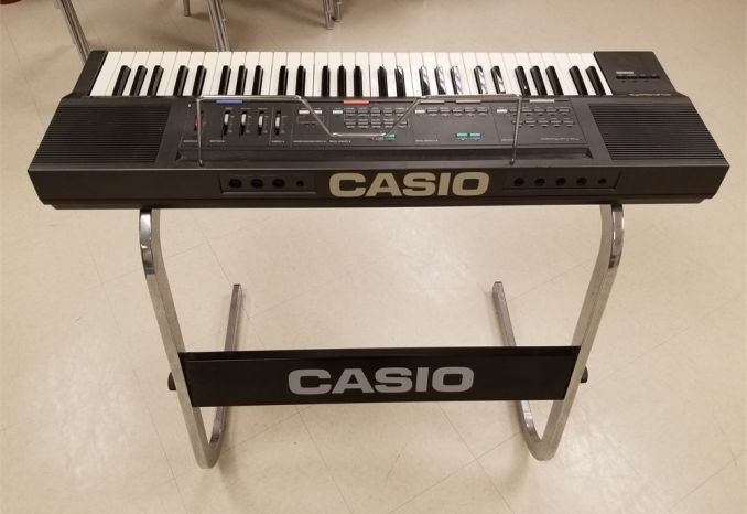 """Vintage Casio """"Casiotone CT-630"""" Keyboard in working condition"""