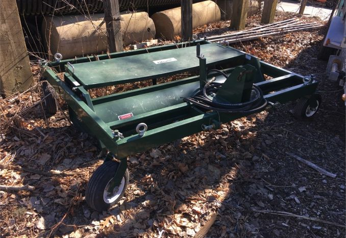 Slightly used Synthetic Field Sweeper