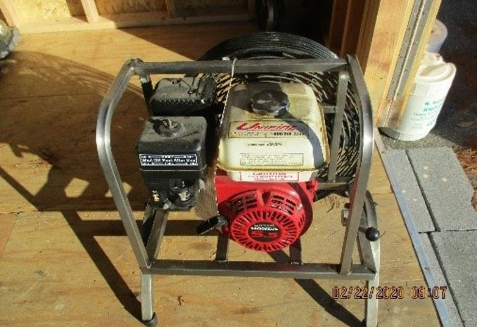 Honda 5.5 hp Gas Blower Fan