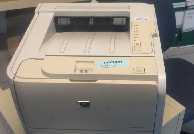 Hewlett Packard LaserJet P2035n used