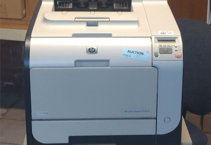 Hewlett Packard LaserJet CP2025 used