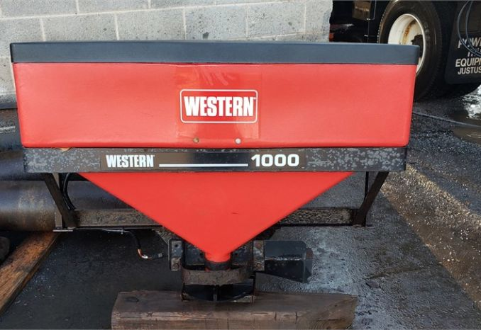 Western Salt Spreader