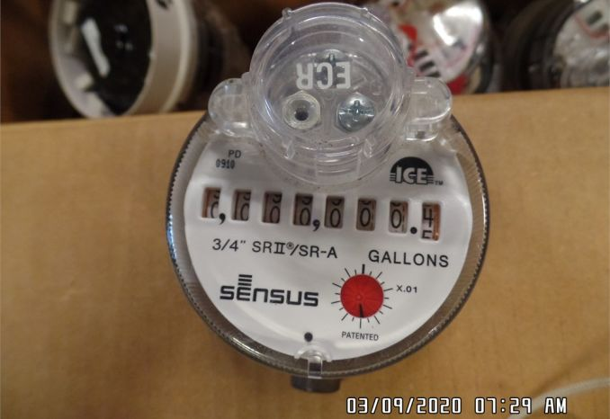 Sensus SR2 Water Meter Register
