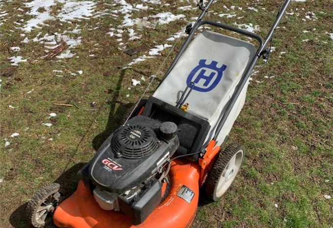 Husqvarna Push Mower with Bagger