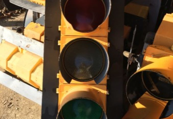 10 Quantity Single Traffic Signals