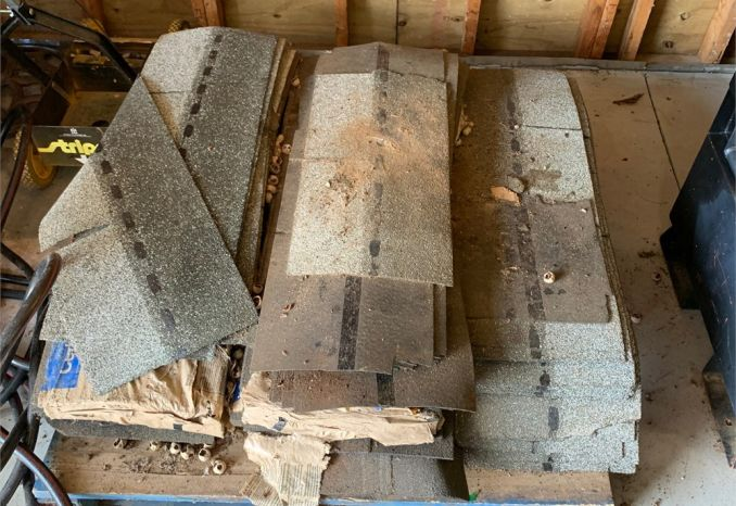 Pallet Lot of Shingles