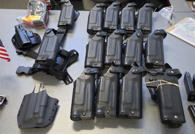 Used H&K Assorted Holsters(for firearms fitted with Surefire TL1)