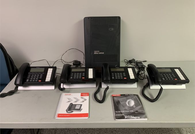 TOSHIBA TELEPHONE SYSTEM MODEL #DP-5000