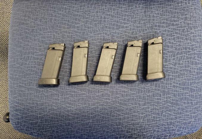 Glock 36 Magazines (Quantity 5)