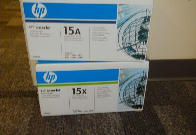 HP 15A, 15X toner