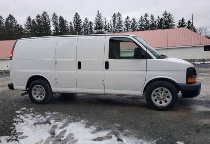 2013 Chevrolet Express Cargo Van AWD