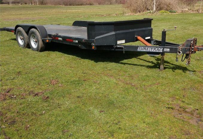 18 foot tilt trailer