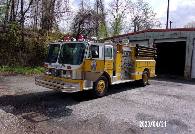 1987 Hahn fire truck