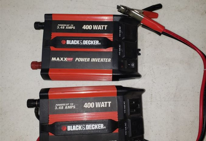 black & decker power inverter