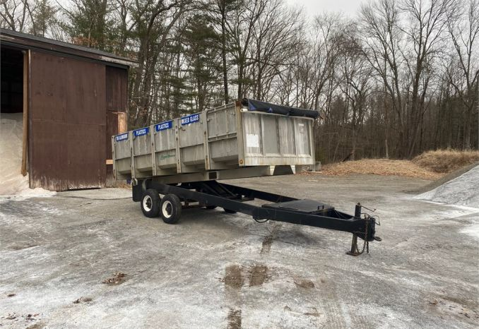 1988 Eager Beaver Recycling Trailer