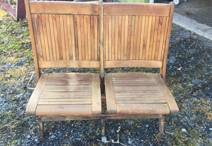 Lot of 20 Double Fold up Chairs